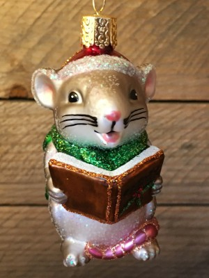 Caroling Mouse Silver